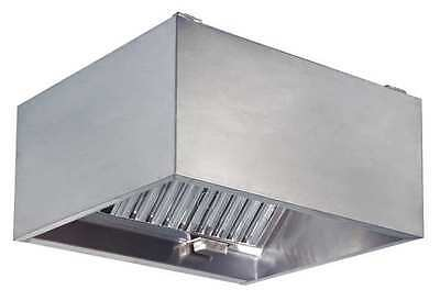 DAYTON 20UD05 Commercial Kitchen Exhaust Hood, SS, 48 in
