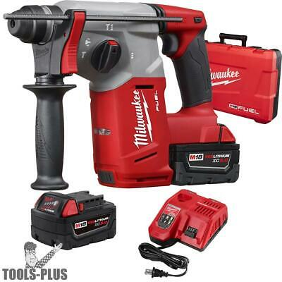 "Milwaukee M18 FUEL 1"" SDS Plus Rotary Hammer 2712-22 NEW"