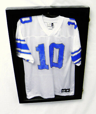 JERSEY DISPLAY CASE 2 Frame Shadow Box Football Baseball Basketball ...