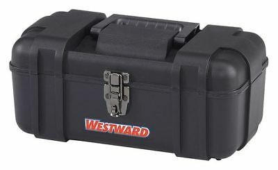 "14"" Portable Tool Box, Black WESTWARD 30RZ38"