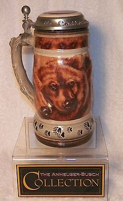 Anheuser Busch Grizzly Stein -Call of the Wild Series- NEW - Dealer Closed Store