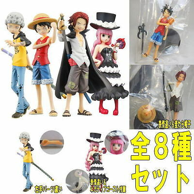 Bandai Half Age Figure One Piece Promise of the straw hat Vol 5 Set x 8