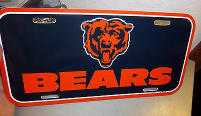 Chicago Bears NFL team License Plate - Made in the USA