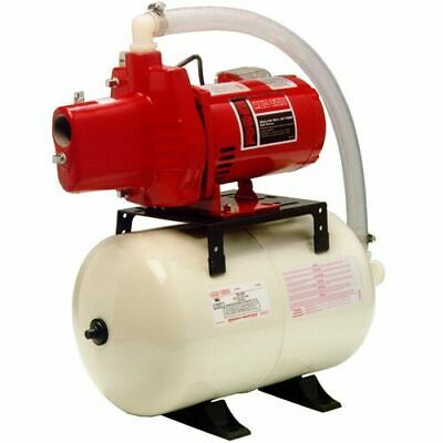 Red Lion 12 GPM 1/2 HP Cast Iron Shallow Well Jet Pump System w/ 6-Gallon Tank