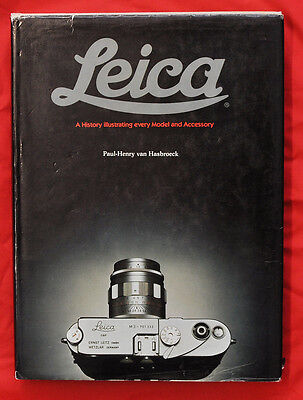 "P.H.van Hasbroeck libro ""Leica A History illustrating every Model and Acc...D512"