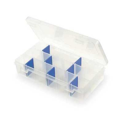 "Flambeau Adjustable Compartment Box, 7"" W x 4-1/8"" L x 1-1/2"" H, 2003"