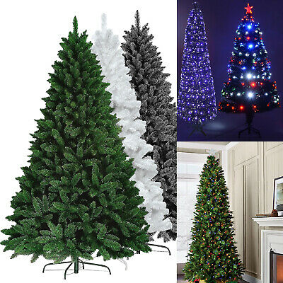 Deluxe Colorado Artificial Pine Christmas Tree Spruce w/ Metal Stand Indoor Xmas