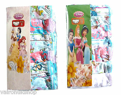 Pack Of 7 Girls 'Disney' Print Knickers