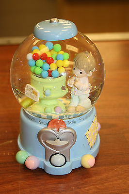 Rare Precious Moments Count  Many Blessings Waterball/Snowglobe~Musical~FS!