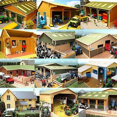 BRUSHWOOD Toys Farmyard Sheds Buildings Barns 1:32 - Scale