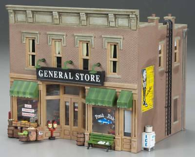 NEW Woodland Scenics Lubener s General Store O BR5841