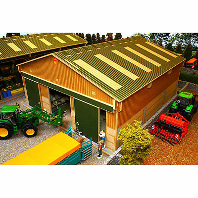 BRUSHWOOD BBB130 Livestock Barn Big Basics - 1:32 Farm Toys