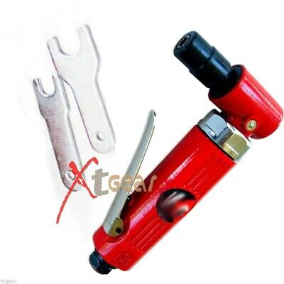 """1/4"""" Mini 90 Degree Right Angle Air Die Grinder 2000RPM High Speed"""