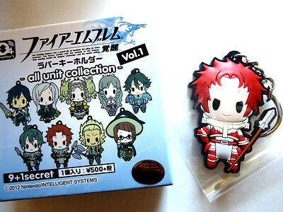 VERY RARE!❤FIRE EMBLEM❤Rubber Strap Collection❤Sully❤japan Limited❤Empty