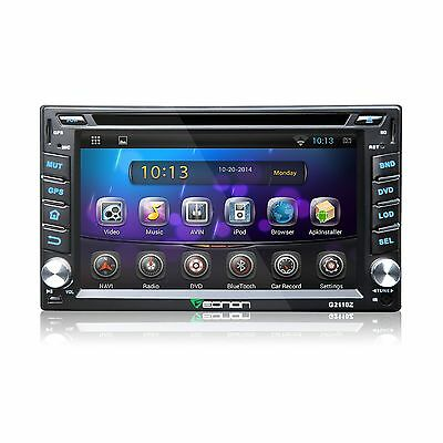 Head Unit Eonon 2 DIN Car DVD Player Radio Stereo L7 GPS Wifi SWC LCD Android OS