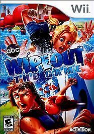 Nintendo Wii Game ABC WIPEOUT THE GAME - No Manual