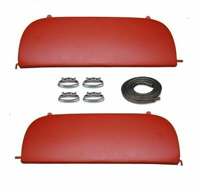 53 54 1953 1954 Chevy 150 210 & Bel Air Metal Fender Skirts With Clips New