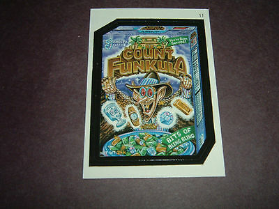 2005 Topps Wacky Packages ANS 2 sticker #11 COUNT FUNKULA