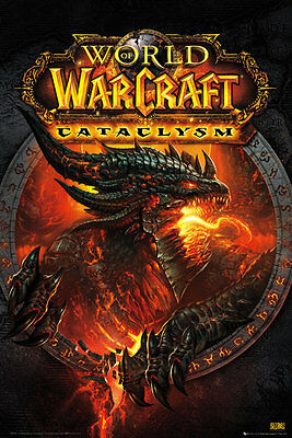 (LAMINATED) WORLD OF WARCRAFT CATACLYSM POSTER (61x91cm)  PICTURE PRINT NEW ART