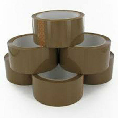 36 Rolls Brown Parcel Packing Tape
