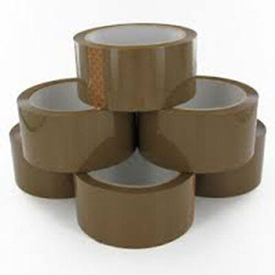 30 Rolls Brown Parcel Packing Tape