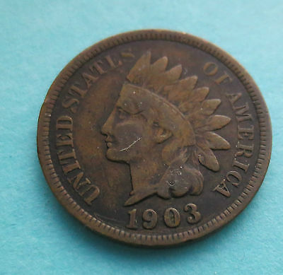 1903 Indian Head Cent ~ Nice Circulated Condition