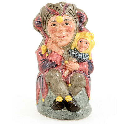 """ROYAL DOULTON SMALL SIZE TOBY  JUG """"  THE JESTER """" LIMITED EDITION"""