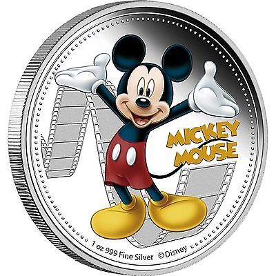 Niue 2014 2$ Disney Mickey & Friends 2014 - Mickey Mouse 1 Oz  Proof Silver Coin