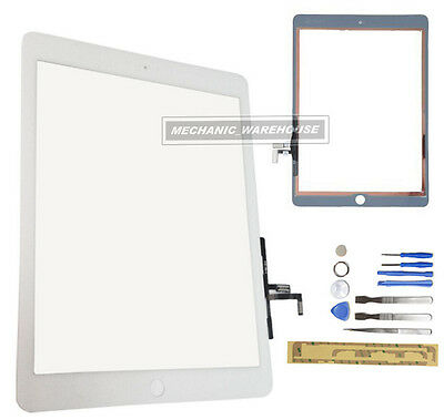 NEW DIGITIZER LENS GLASS TOUCH SCREEN FOR APPLE iPAD AIR WHITE IPAD 5 5TH TOOLS