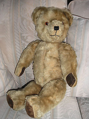 VINTAGE PEDIGREE BEAR,MOHAIR ,JOINTED, 18""