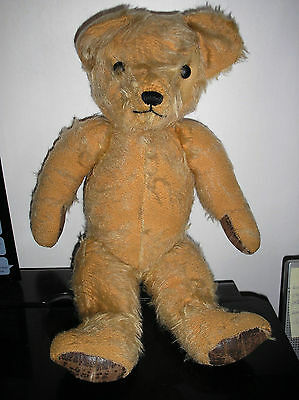 "ANTIQUE BEAR, 14"" JOINTED"
