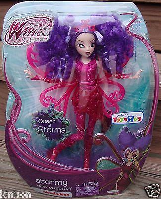 "Jakks Pacific 11.5"" Winx Club Trix Collection Stormy Queen of Storms Sirenix NEW"