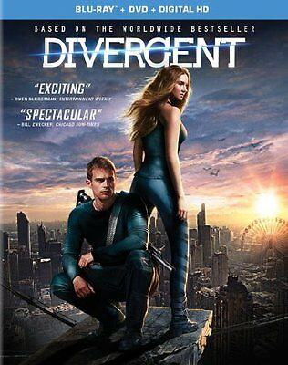 Divergent (Blu-ray 2014 DVD AND DIGITAL NOT INCLUDED