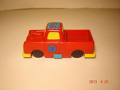 "1992 Wendy's Kids Meal Toy - Speedbumpers Red Pick-up ""BAG-IT"""