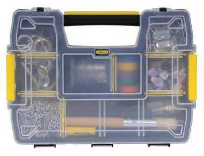 Compartment Box, Plastic, Black/Yellow, Stanley, STST14021