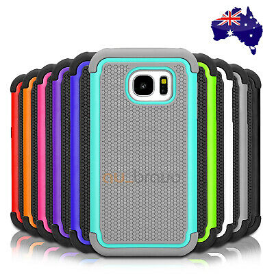 Shockproof Heavy Duty Hard Case Cover For Samsung Galaxy S8 S8+ Plus S5 S7 edge
