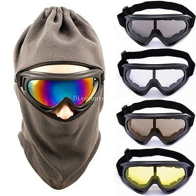 New Adult Snow Snowboard Goggles Frame Lens Ski Sports Motorcycle Glasses