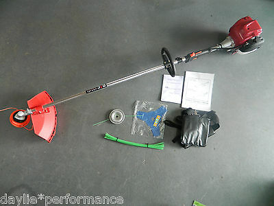 4 stroke 35.8cc Commercial BRUSHCUTTER DMC 3 IN 1 FREE ALLOY HEAD AND TRIMLINE