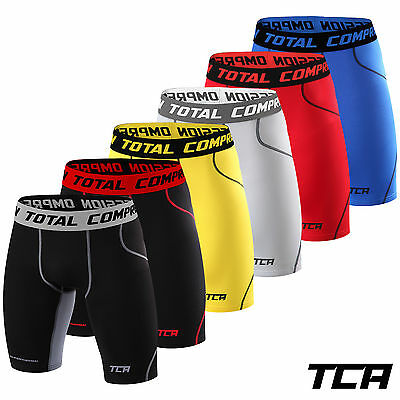 Mens Boys TCA SuperThermal Thermal Compression Armour Thermal Base Under Shorts