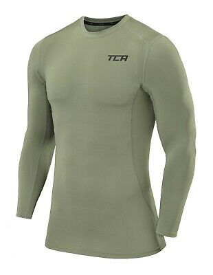 Mens Boys TCA Elite+ Compression Base Layer Top Thermal Long Sleeve Under Shirt