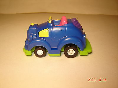 "1992 Wendy's Kids Meal Toy - Speedbumpers ""BLUE CAR"""