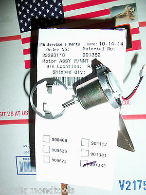 PASLODE Part  # 901382 - FAN MOTOR ASSEMBLY (replaces 901112, 900524, + 900564)