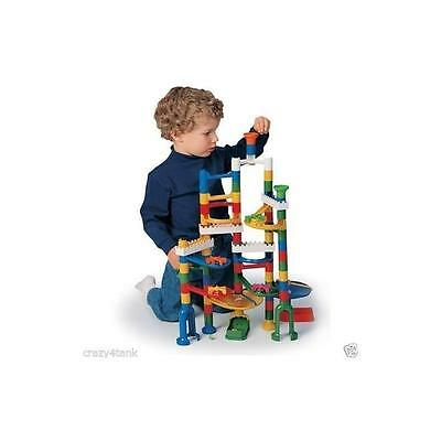 Creative Motion Marble Run Kit With 12 Marbles, 68-Piece