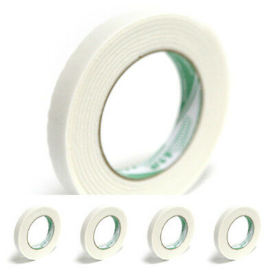 5pc 3D Double Sided Adhesive Auto Foam Sticky Mounting Attachment Roll Tape 2.9M