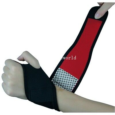 Weight Lifting Wrist Wraps Bandage Support Straps Gloves Gym Fitness Training