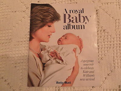 A ROYAL BABY ALBUM GORGEOUS SOUVENIR TO CELEBRATE KATE AND WILLIAM'S NEW BABY