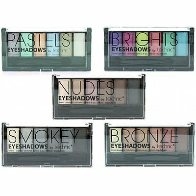 Technic 6 Piece Eye Shadow Palette Set - Choose Your Shade