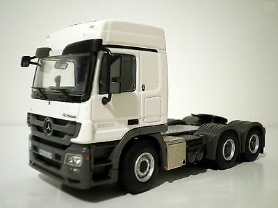 WSI MERCEDES ACTROS, MP3 L-CABINE 6x4 SINGLE TRUCK
