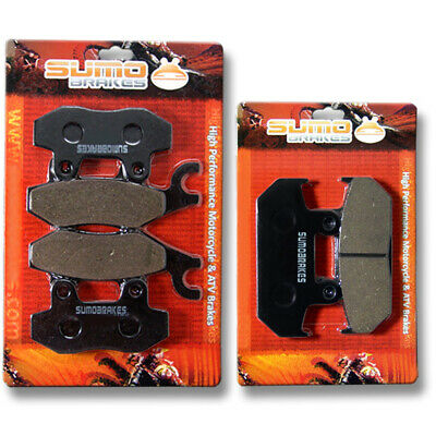 Suzuki FR+R Brake Pads AN 400 Burgman Skyware 2007 2008 2009 2010 2011 2012 2013