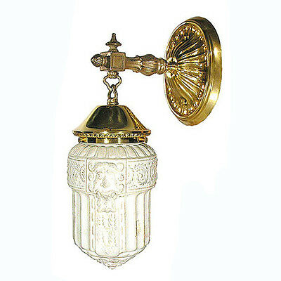 Edwardian Wall Sconce Antique Reproduction Circa 1910 Victorian Design 27-ES-PB